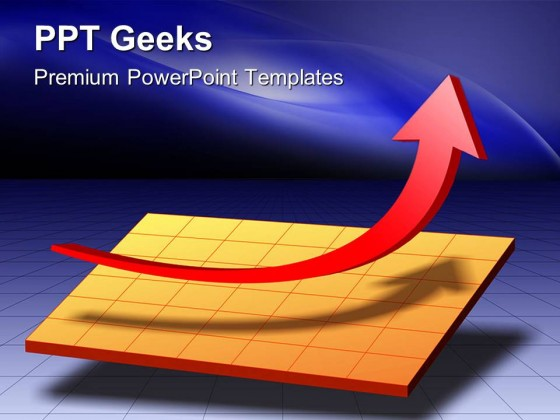 Business Chart Financial PowerPoint Templates And PowerPoint Backgrounds 0411