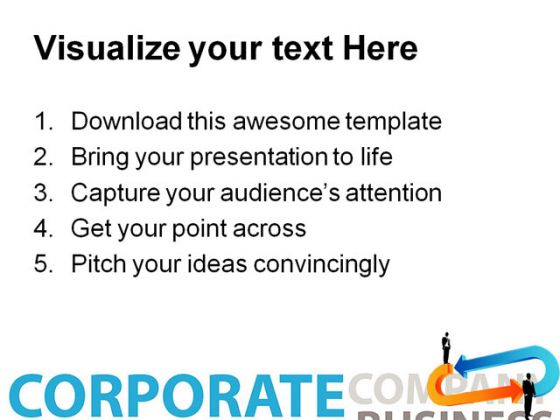 Business Concept01 People PowerPoint Template 0910
