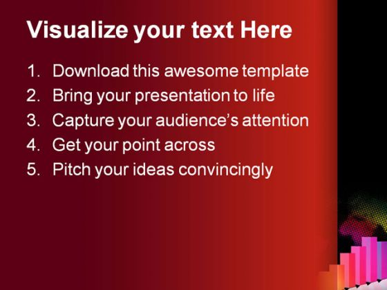 Business Data Business PowerPoint Template 1010