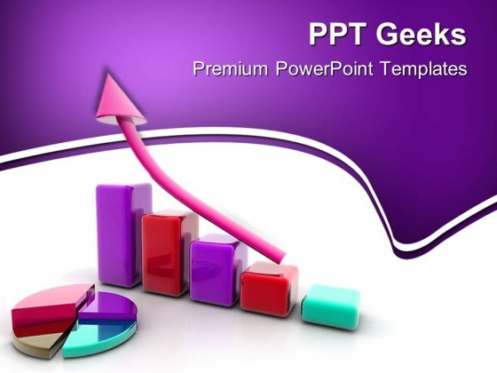 Business Graph Profit Symbol PowerPoint Templates And PowerPoint Backgrounds 0411