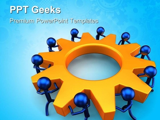 business process teamwork powerpoint templates and powerpoint