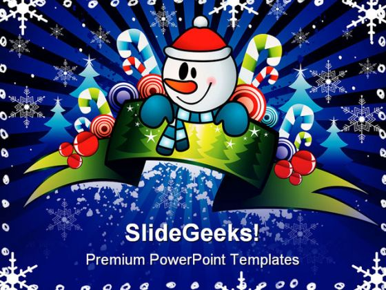 Celebration01 Christmas PowerPoint Template 0610