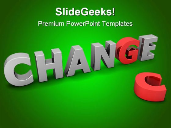 chance to change business powerpoint template 1010, Modern powerpoint