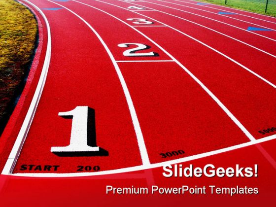 Competition Sports Powerpoint Template 0510