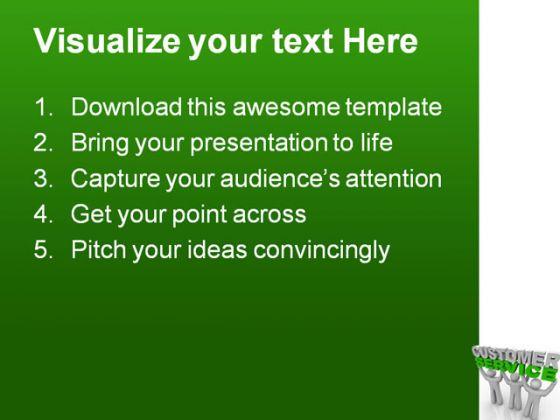Customer Service PowerPoint Templates