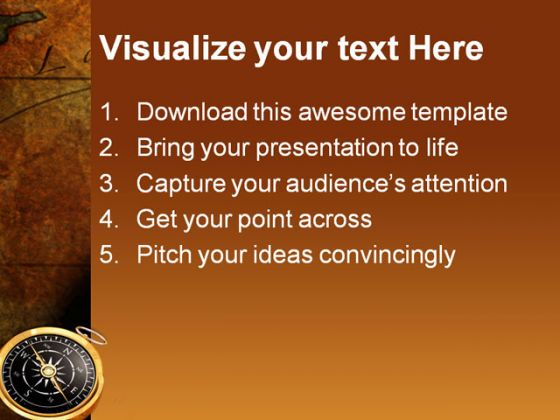 Compass map globe powerpoint template 1110 directions compass map globe powerpoint template 1110 toneelgroepblik Gallery
