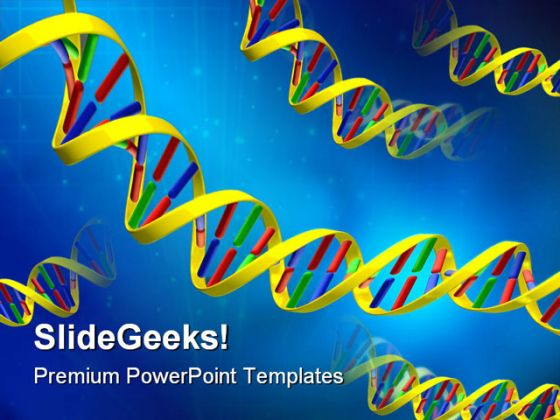Dna Science Powerpoint Template