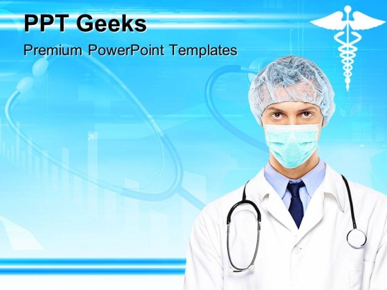 Doctor Medical PowerPoint Templates And PowerPoint Backgrounds 0411