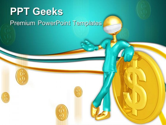 Doctor With Money Medical Powerpoint Templates And Powerpoint