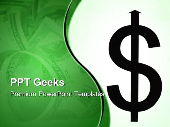 dollor sign money powerpoint templates and powerpoint