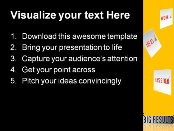 E Business Concept Future PowerPoint Template 1110
