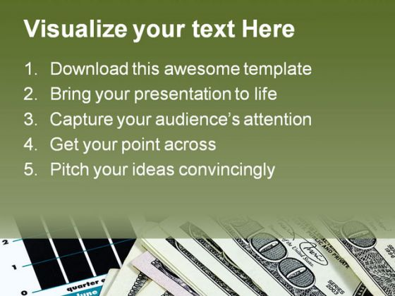 Earnings Business PowerPoint Template 1110