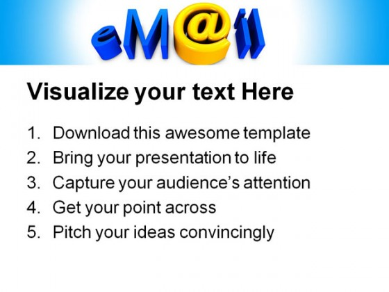 Email01 Internet PowerPoint Templates And PowerPoint Backgrounds 0411