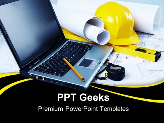 Engineering Place Construction PowerPoint Templates And PowerPoint Backgrounds 0411