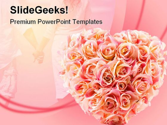 Flowers Wedding Powerpoint Template