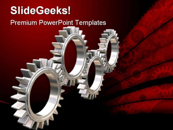 Gears industrial powerpoint template 0810 toneelgroepblik Gallery
