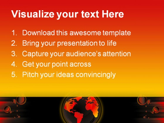 Global Warming Abstract PowerPoint Templates And PowerPoint Backgrounds 0411