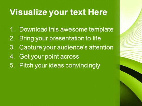 Green Abstract Background PowerPoint Templates And PowerPoint Backgrounds 0411