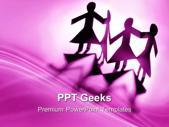 group of females communication powerpoint templates and powerpoint, Modern powerpoint