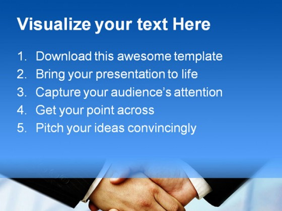 Handshake04 Business PowerPoint Templates And PowerPoint Backgrounds 0411