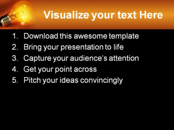Idea Business PowerPoint Template 0810