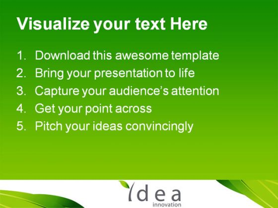 Idea Innovation Future PowerPoint Template 1110