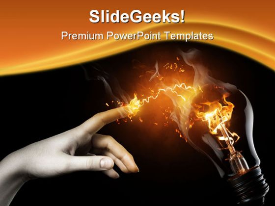 electrical powerpoint powerpoint templates, Presentation templates