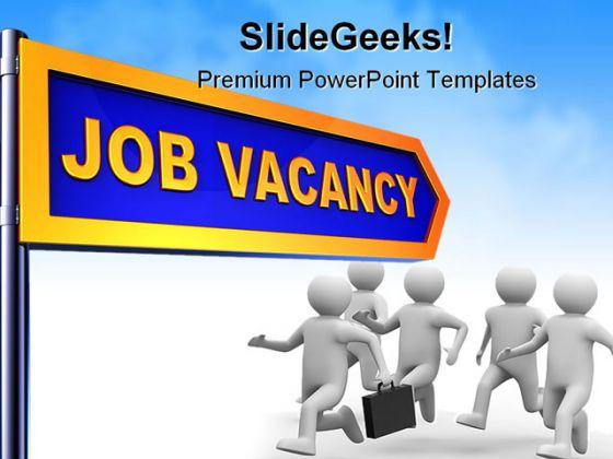 Job vacancy business powerpoint backgrounds and templates 1210 toneelgroepblik Gallery
