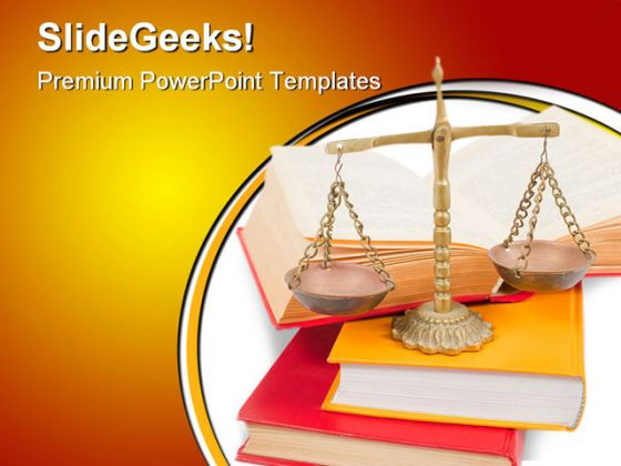 Justice Books Concept Law PowerPoint Backgrounds And Templates ...