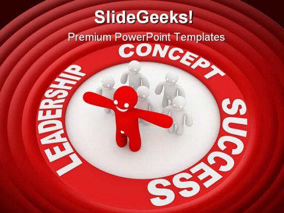 Leadership concept success powerpoint template 0510 leadershipconceptsuccesspowerpointtemplate05101g maxwellsz