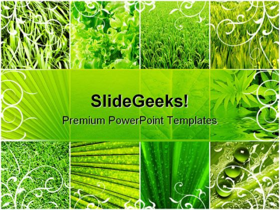 Agriculture powerpoint powerpoint templates leaves collage nature powerpoint template 0810 toneelgroepblik Gallery