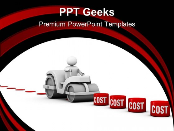 Lowering Costs Sales PowerPoint Templates And PowerPoint Backgrounds 0411