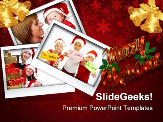 Merry Christmas03 Festival PowerPoint Backgrounds And Templates 1210
