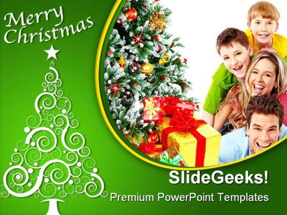 Merrychristmasfamilyfestivalpowerpointtemplate10101g toneelgroepblik Gallery