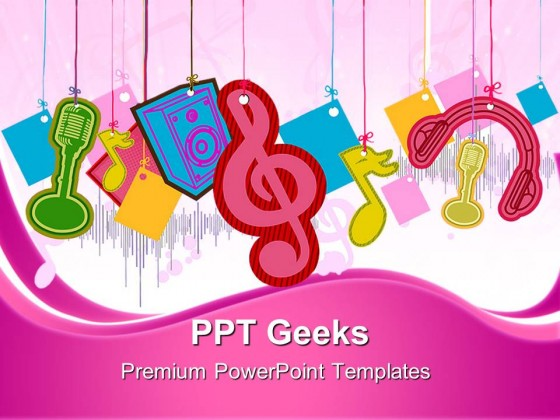 Music Symbol PowerPoint Templates And PowerPoint Backgrounds 0411