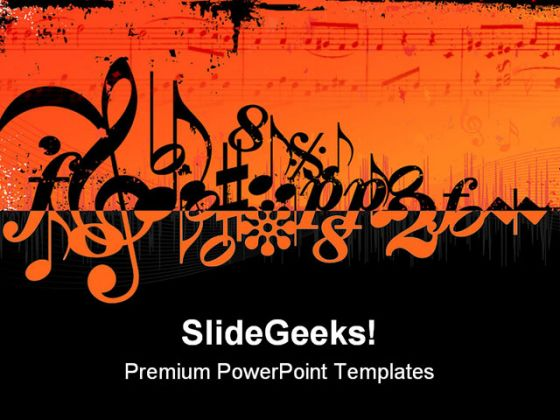 music, Powerpoint