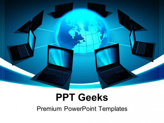 Network Concept Computer PowerPoint Templates And PowerPoint