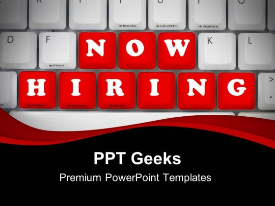Now Hiring Computer Powerpoint Templates And Powerpoint