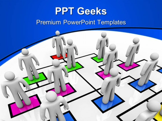 Organizational Chart01 Business PowerPoint Templates And PowerPoint Backgrounds 0411