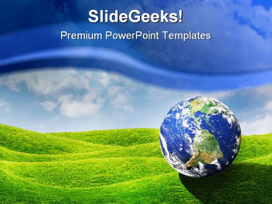 Planet earth globe powerpoint template 0910 toneelgroepblik Choice Image