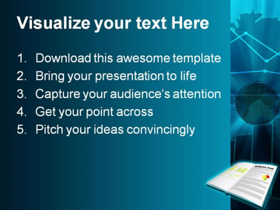 Planning Business PowerPoint Template 0610