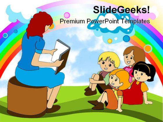 Preschool education powerpoint backgrounds and templates 1210 toneelgroepblik Gallery