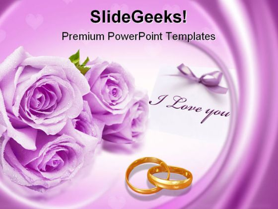Wedding Powerpoint Powerpoint Templates
