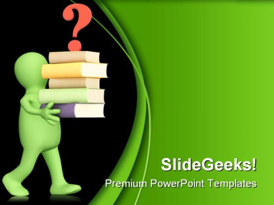 Question People Eduation Powerpoint Backgrounds And Templates