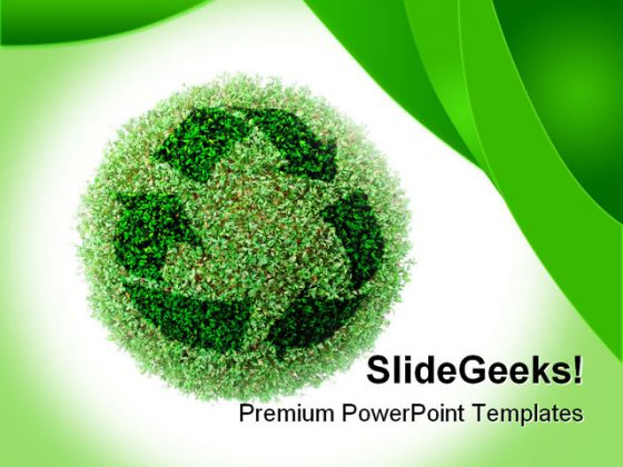 Recycle environment powerpoint template 0910 toneelgroepblik Gallery