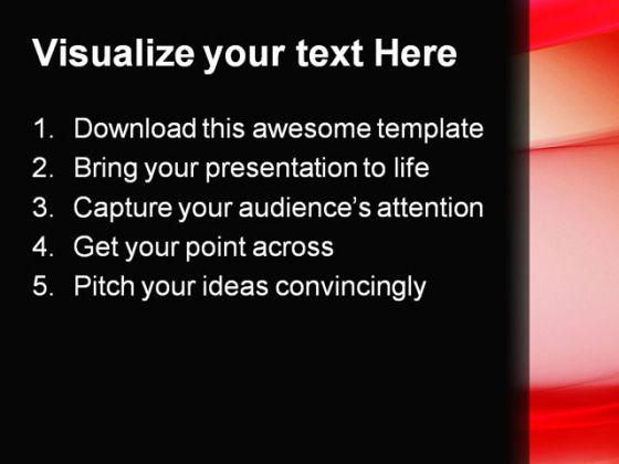 Red abstract powerpoint template 0910 toneelgroepblik Choice Image