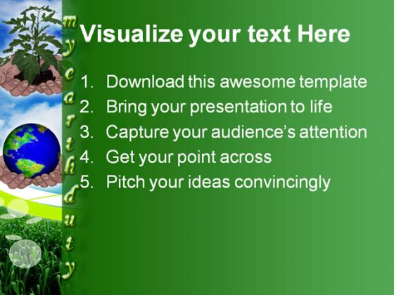 save earth ppt Download save earth powerpoint templates and themes: are you looking for save earth powerpoint template, powerpoint background on save earth, save earth ppt templates, powerpoint slide on save earth, save earth templates, free save earth slide.