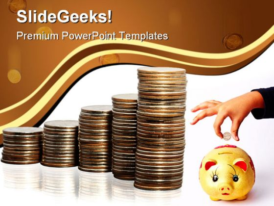 Save Money Finance Powerpoint Backgrounds And Templates 1210