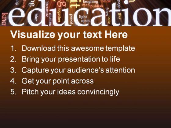 School education powerpoint template 0810 toneelgroepblik Image collections