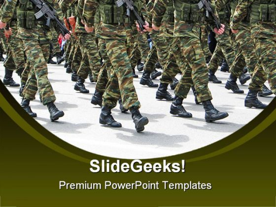 army powerpoint powerpoint templates, Modern powerpoint